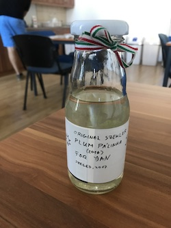 Homemade palinka