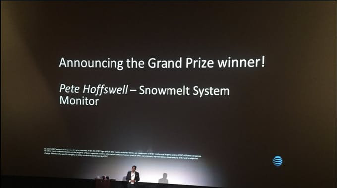 Announcing the Grand Prize winner